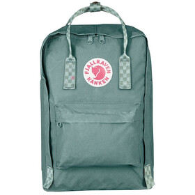 "Fjällräven Kånken Laptop 15"" Mochila, frost green-chess pattern"